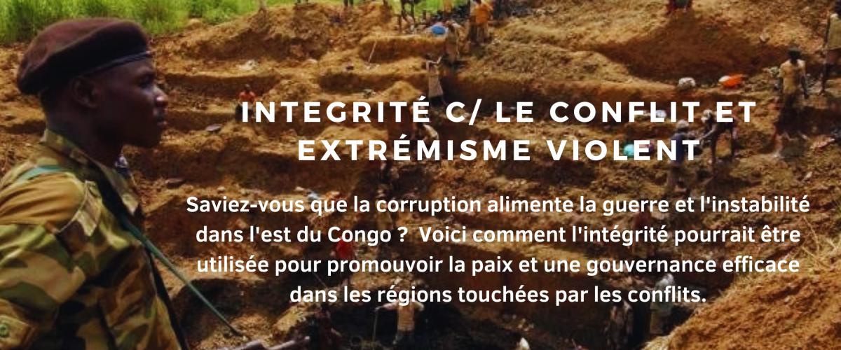 L'intégrité contre le conflit et l'extrémisme violent