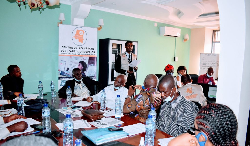 A consultative workshop with non-state actors to discuss the transparency and accountability challenges