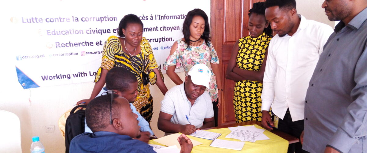 6 Civil Society Organisations trained on Community Integrity Building